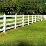 4 Rail Vinyl Ranch Rail Fence Style v2