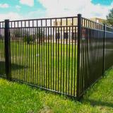 Close Space Picket Aluminum Fences Style v2