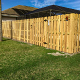 Dog Ear Wood Semi-Privacy Fence Style v2