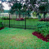 Flat Top Puppy Picket Aluminum Fences Style v2