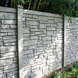 SimTek EcoStone® Vinyl Privacy Fence Style v2
