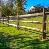 Split Rail Horse Fence Style v2