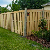 Wood Semi-Privacy Fences Style v2