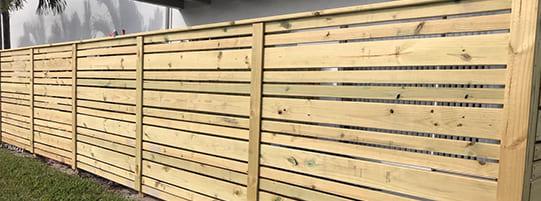 5 Beautiful Wood Fence Styles